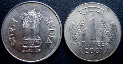 coins made of ferritic steel