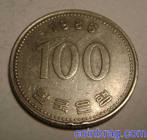 100 won coin - Michael toomim