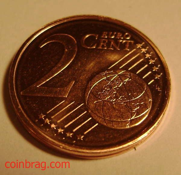 Free 2009 2 Euro Cent Coin from Cyprus Obverse